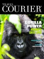 Travel Courier Rwanda/Gorilla cover story