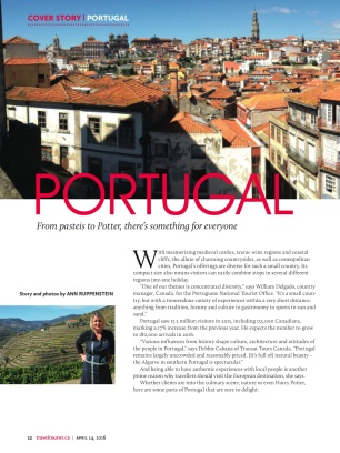Travel Courier Portugal cover story